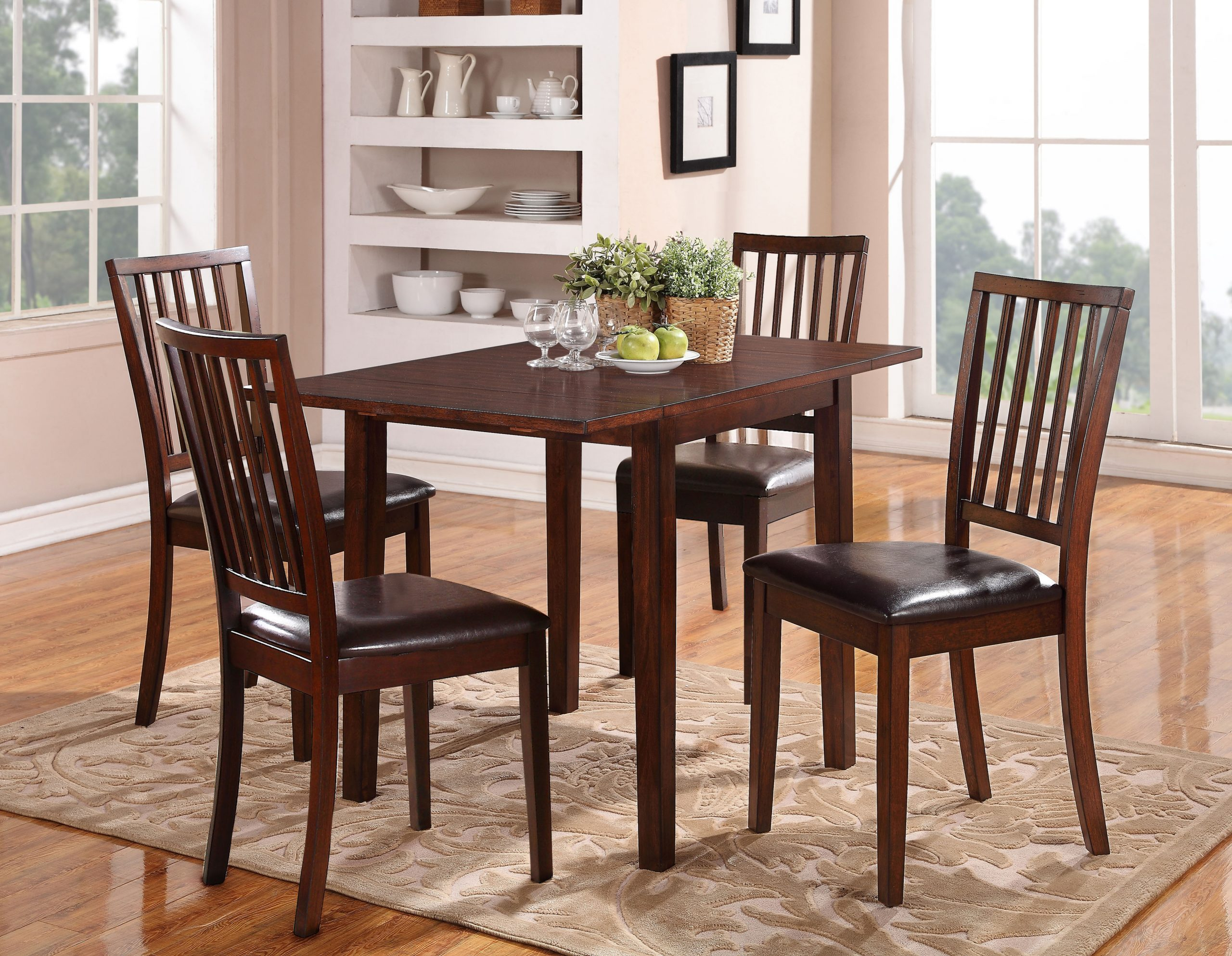 HH12078 RECT TBL W 4 CHAIRS