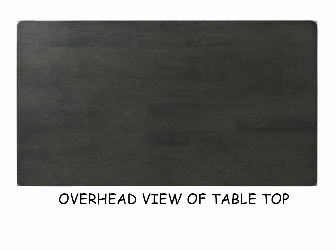 EDAX4007 Alex Dining table overhead
