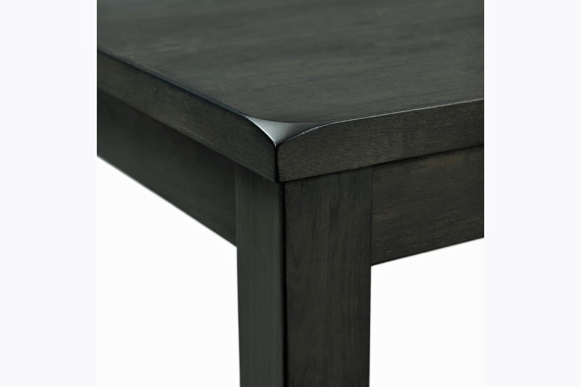 EDAX4007 Alex dining detail table edge - Grey